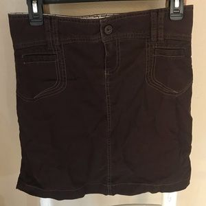Old Navy Brown Pencil Skirt